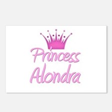 Princess Alondra Postcards (Package of 8)