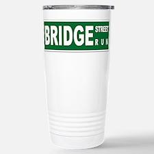 Bridge St Run - Stainless Steel Travel Mug