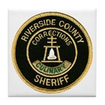 Riverside Corrections Tile Coaster