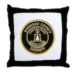 Riverside Corrections Throw Pillow