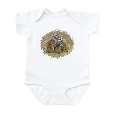 MEERKAT FAMILY LOVE Infant Bodysuit
