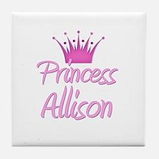 Princess Allison Tile Coaster