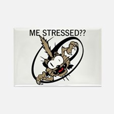 Stressed Out Rectangle Magnet