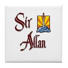 Sir Allan Tile Coaster
