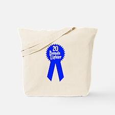 20 Pounds Award Tote Bag