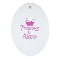 Princess Alize Oval Ornament