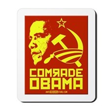Comrade Obama Mousepad