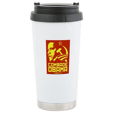 Comrade Obama Stainless Steel Travel Mug
