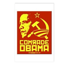 Comrade Obama Postcards (Package of 8)
