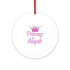 Princess Aliyah Ornament (Round)