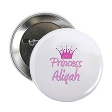 "Princess Aliyah 2.25"" Button"
