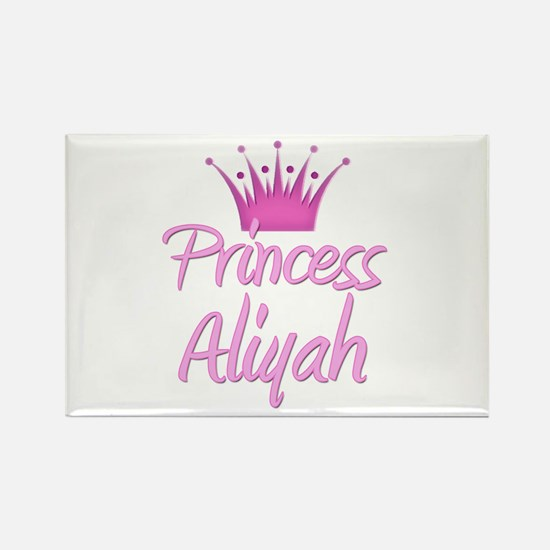 Princess Aliyah Rectangle Magnet