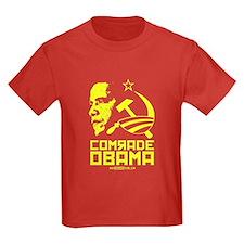 Comrade Obama Kids Red T-Shirt