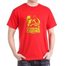 Comrade Obama Red T-Shirt