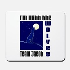 With the Wolves Mousepad
