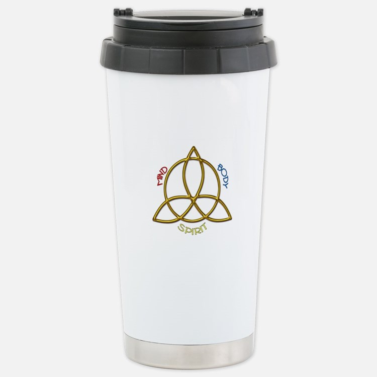 Triquetra Stainless Steel Travel Mug