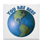 YOU ARE HERE Tile Coaster