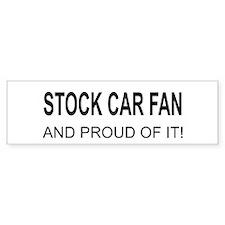 Stock Car Fan Bumper Bumper Sticker