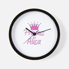 Princess Alisa Wall Clock