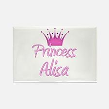 Princess Alisa Rectangle Magnet