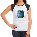 YOU ARE HERE Women's Cap Sleeve T-Shirt