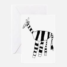 Zebra Valentine Card