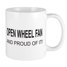Open Wheel Fan Mug