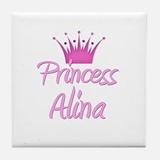 Princess Alina Tile Coaster