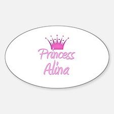 Princess Alina Oval Decal