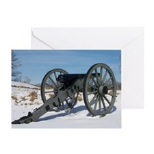 Cannon at Gettysburg Greeting Card