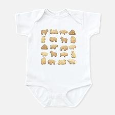 Animal Crackers Infant Creeper