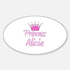 Princess Alicia Oval Decal