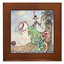 Kay Nielsen Princess Framed Tile