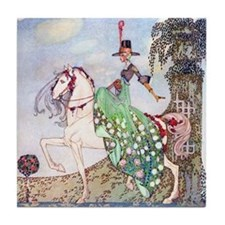 Kay Nielsen Princess Tile Coaster