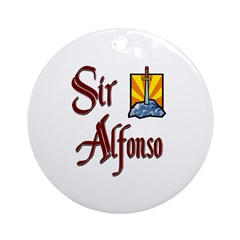 Sir Alfonso Ornament (Round)