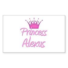 Princess Alexus Rectangle Decal