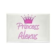 Princess Alexus Rectangle Magnet