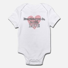 Do Everything With Love Infant Bodysuit