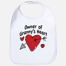 OWNER OF GRANNY'S HEART Bib