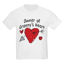 OWNER OF GRANNY'S HEART T-Shirt