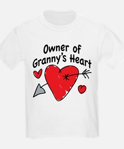 OWNER OF GRANNY'S HEART T-Shirt