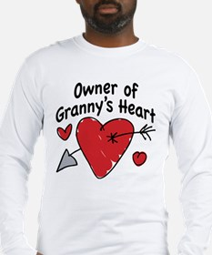 OWNER OF GRANNY'S HEART Long Sleeve T-Shirt