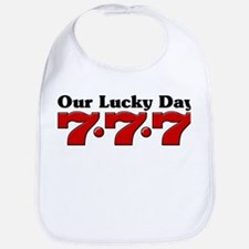 777 Our Lucky Day Bib