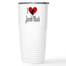I heart Jacob Black /blk Travel Mug