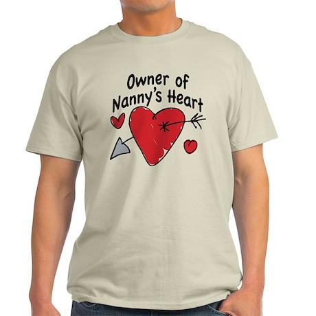 OWNER OF NANNY'S HEART Light T-Shirt