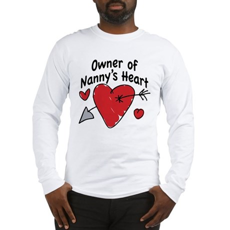 OWNER OF NANNY'S HEART Long Sleeve T-Shirt