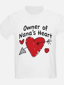 OWNER OF NANA'S HEART T-Shirt