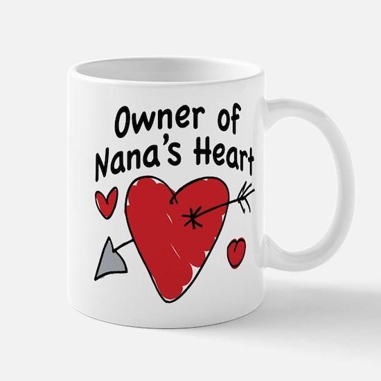 OWNER OF NANA'S HEART Mug