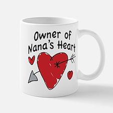 OWNER OF NANA'S HEART Small Small Mug