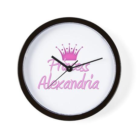 Princess Alexandria Wall Clock